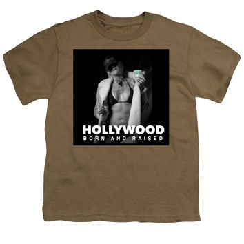 After Dark Model Elisabeth Hollywood Born - Youth T-Shirt