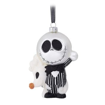Licensed cool 2017 Jack Zero Dog Glass Ornament Nightmare Before Christmas Disney Store Parks