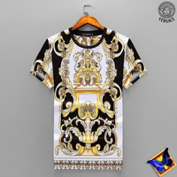 Versace Fashion Casual Shirt Top Tee-73