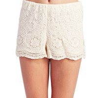 Freshman™ Boho Lace Shorts | Wet Seal