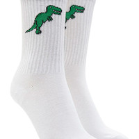 T-Rex Graphic Crew Socks