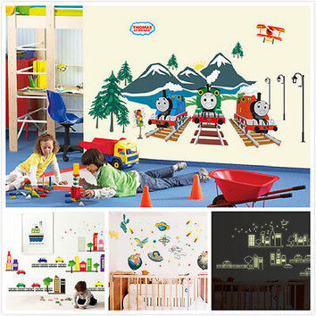 Thomas U0026 Friends Train Removable Wall Sticker Decals Decor Kids Part 80
