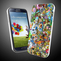 adventure time all character jack and finn  for iPhone 4 / 4S / 5 Case Samsung Galaxy S3 / S4 Case