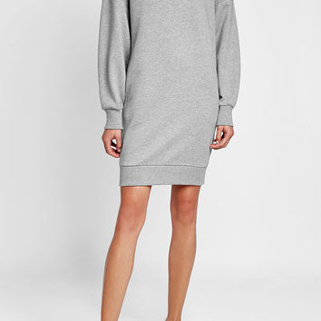 Cotton Sweatshirt Dress - Burberry | WOMEN | US STYLEBOP.COM