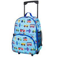 Olive Kids Trains, Planes & Trucks Rolling Luggage - 85079