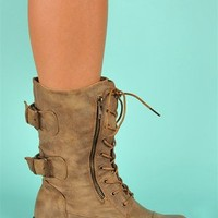 NYC Boots - Tan