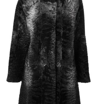 Liska Persian lamb fur coat