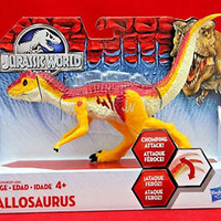 Jurassic World Bashers and Biters Allosaurus Action Figure Jurassic Park Toy