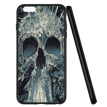 Abstract Skulls Artwork iPhone 6 | 6S Case Planetscase.com