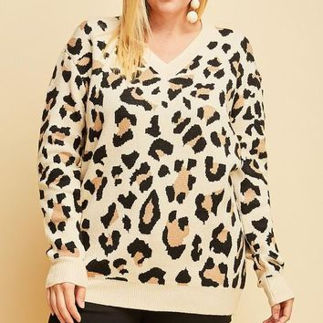 Angel Soft Leopard Top | Plus