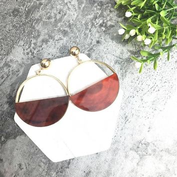 Trendy Geometric Earrings [36787847175]