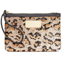 Betsey Johnson Sequin Wristlet