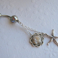 Starfish Belly Button Ring Belly Button Jewelry by AimeezArtz