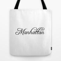 Manhattan Tote Bag by Blocks & Boroughs