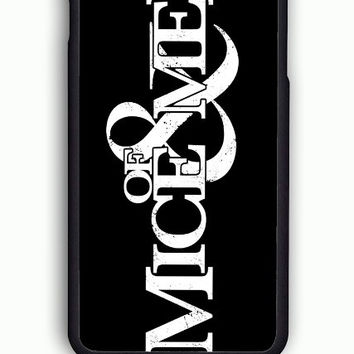 iPhone 6 Case - Hard (PC) Cover with Of Mice and Men Logo Plastic Case Design