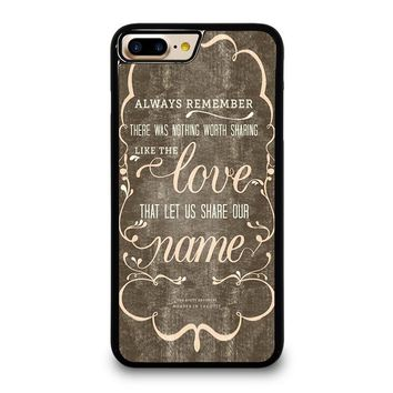 THE AVETT BROTHERS QUOTES iPhone 7 Plus Case Cover