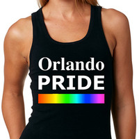 Orlando Pride TANK TOP Same-Sex Marriage Gay Pride Lesbian Pride Rainbow Pride Equality Tank Top