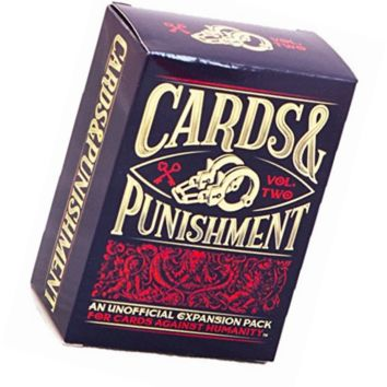 Cards and Punishment: Vol. 2, another Unofficial Expansion Pack Against Humanity