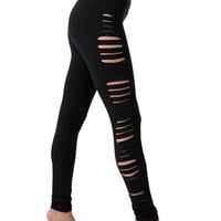 Cut Yoga legging - Women's