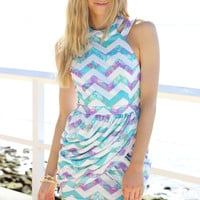 Tulip Dress - Zig Zag | SABO SKIRT