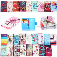 Leather Pu Filp Phone cases For Samsung Galaxy S3 mini Case Stand Holder Cover Cases With Card Slot For samsung S3 mini i8190