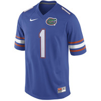 Men's Nike Percy Harvin Royal Florida Gators Alumni Football Jersey