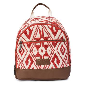 Phive Rivers Women's Jacquard Fabric Backpack -PRU1361