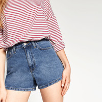 MOM FIT SHORTS - SHORTS-WOMAN | ZARA United States
