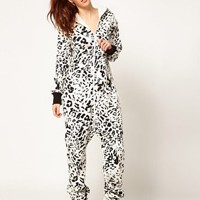 OnePiece Snow Leopard Onesuit at asos.com
