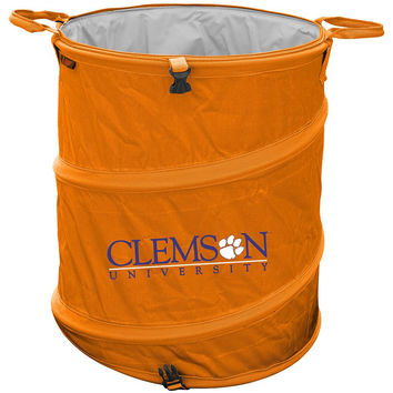 Clemson Tigers NCAA Collapsible Trash Can