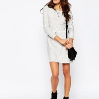 ASOS TALL Dress In Knit With Tie Waist Detail