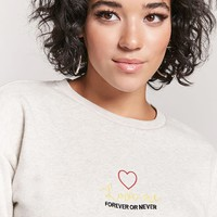 Love Me Graphic Sweatshirt