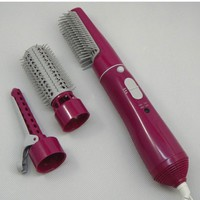 3 in 1 Hot Air Hair Styler 2 Temperature Hair Curler Dryer Brush Set Electric Hair Styling Tools 100V-240V