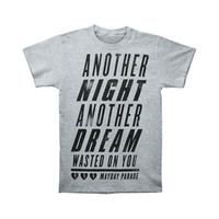 Mayday Parade Men's  Crushed T-shirt Grey