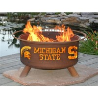 SheilaShrubs.com: Michigan State Fire Pit F403 by Patina Products: Collegiate Fire Pits