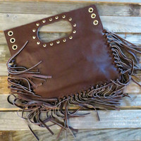 My Night Out Fringed Handbag