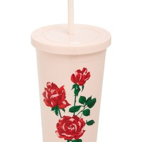 ban.do Sip Sip Accept This Rose Travel Tumbler | Nordstrom