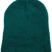 The Daily Beanie in Dark Teal