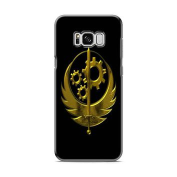 BROTHERHOOD OF STEEL YELLOW LOGO Samsung Galaxy S8 | Galaxy S8 Plus Case