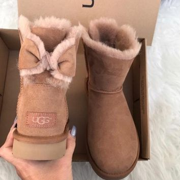 UGG authentic chestnut boots