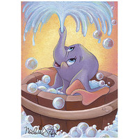 Disney ''Dumbo in Bubbles'' Giclée by Michelle St.Laurent | Disney Store