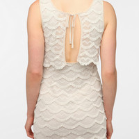 Urban Outfitters - Cooperative Knit Shag Shift Dress