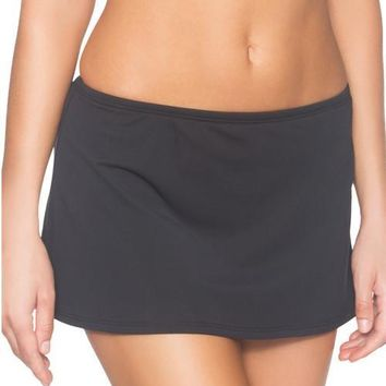 Sunsets Separates Black - Kokomo Contemporary Swim Skirt Bikini Bottom