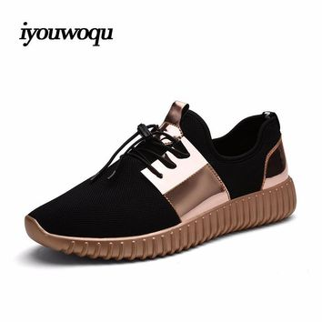 Hot Sale Spring 2017 New design Outdoor Sport Running Shoes for Men and Women Sneakers