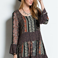Challie Peasant Dress – Gypsy Outfitters - Boho Luxe Boutique