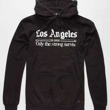 Jslv Times Mens Hoodie Black  In Sizes