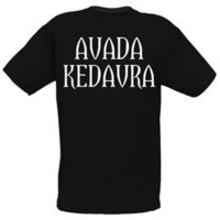 Harry Potter Avada Kedavra Spell Adult T-Shirt