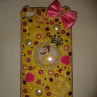 Belle Beauty And The Beast iPhone4 Cover by CandyAndDiamonds