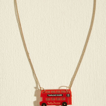 This Is Bus Necklace