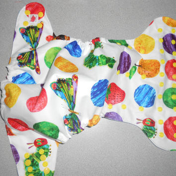 Full One Size Very Hungry Caterpillar Pocket Diaper